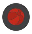 beach ball glyph color icon vector image