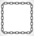 frame chain vector image vector image