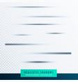paper shadows transparent border effect vector image vector image