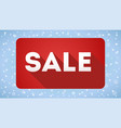 sale design icon simple and flat sign vector image