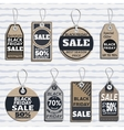 set of sale tags different tags design on the vector image