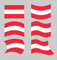 Austria flag Set of flags o Austrian Republic in vector image vector image