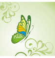 Background with butterfly vector | Price: 1 Credit (USD $1)