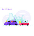cars for women composition vector image vector image
