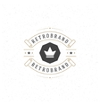 Luxury Design Element in Vintage Style for vector image