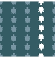 seamless turtle pattern vector image vector image