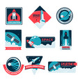 space exploration program and adventure special vector image