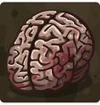 Symbol 6 Brain vector image vector image