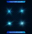 transparent shining sun vector image vector image