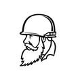 vietnam war american soldier wearing combat vector image vector image