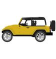 Safari car vector image