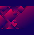 abstract blue and pink gradient squares rounded vector image vector image