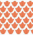 background maple leaves branches decoration autumn vector image