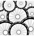 Bicycle wheel bike wheels background vector image vector image