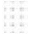 full page centimeter dot paper vector image