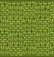 garter checkerboard stitch pattern vector image vector image