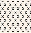 geometric seamless pattern modern funky texture vector image vector image
