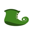 Green leprechaun boots icon vector image vector image
