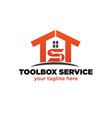 home service logo designs vector image vector image