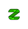 initial letter z logo template design vector image vector image