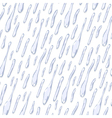 Seamless background with water drops vector image