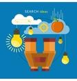 Search Idea Concept vector image vector image