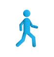 stick figure man vector image vector image