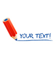 Your text vector image vector image