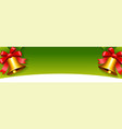 christmas sales banner design - holiday greeting vector image vector image