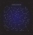 constellation set vector image vector image