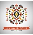 decorative element on native style vector image vector image