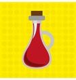 delicious wine design vector image vector image