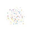 festive confetti celebration stars joyous stars vector image vector image