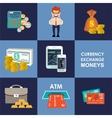 finance banking set vector image vector image