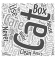 House Cat Care Word Cloud Concept vector image vector image