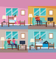 routines at home vector image vector image