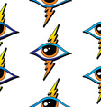 Seamless one eye pattern