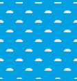 wooden boat pattern seamless blue vector image vector image