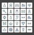 year icons set collection of japan souvenir vector image