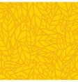 Yellow leaf nature seamless pattern vector image vector image