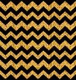 Glitter Seamless Zigzag Texture vector image
