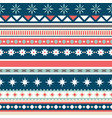 beautiful seamless pattern with stripes and vector image vector image