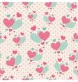 cute cartoon hearts for scrapbook paper vector image vector image