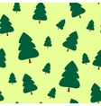 Paper Christmas trees vector image vector image