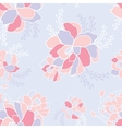 Seamless background pattern Beautiful flowers in vector image