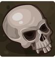 Symbol 7 Skull vector image vector image