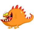 friendly monster vector image