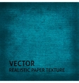 Blue paper texture background vector image vector image
