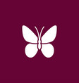 butterfly icon gardening vector image