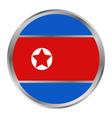 flag of North Korea vector image vector image